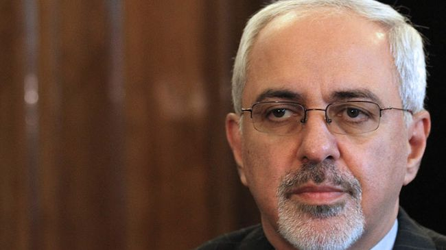 Iran's Foreign Minister Mohammad-Javad-Zarif