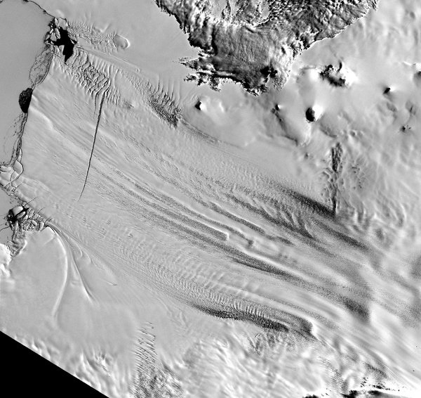 Antarctic ice sheet doomed