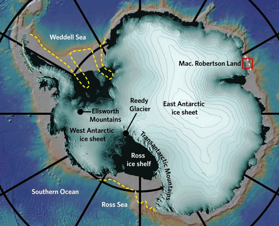 East Antarctica Is Much More Vulnerable To the Effects of Global Warming-Study Reveals