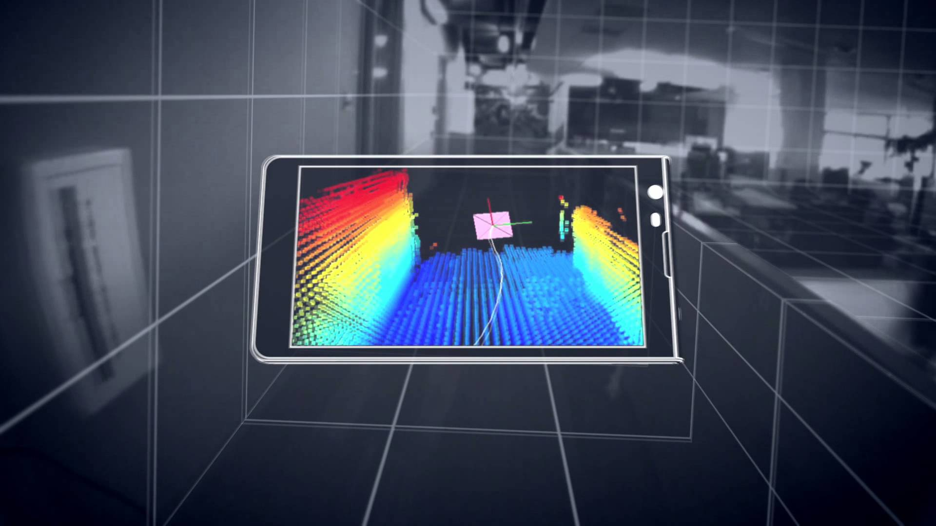 Google tablet 3-d pictures project tango
