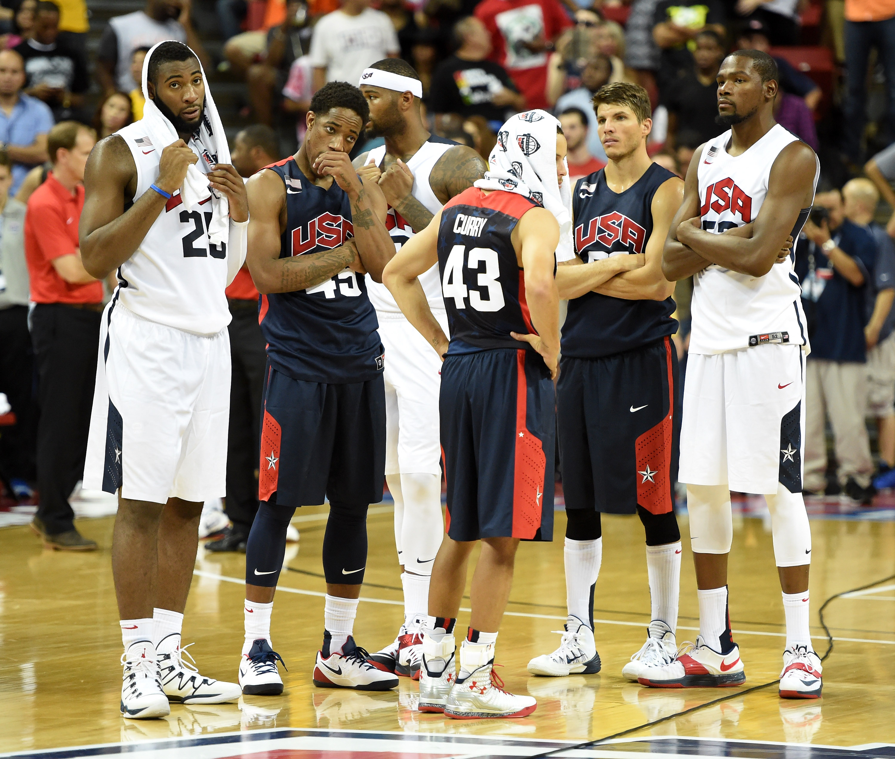 Ebola USA Basketball Senegal