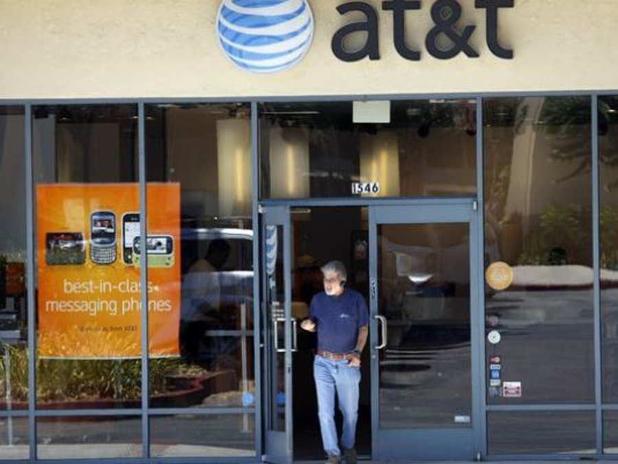 AT & T fined $105 million over illegal billing
