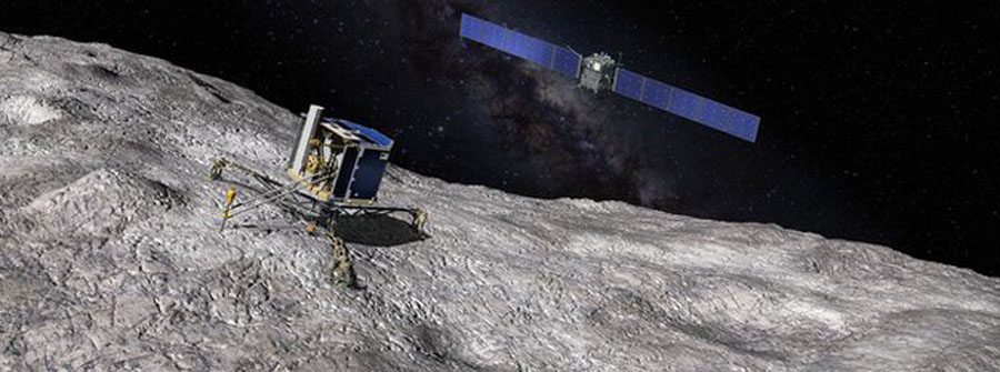 Rosetta space mission for Comet 67P