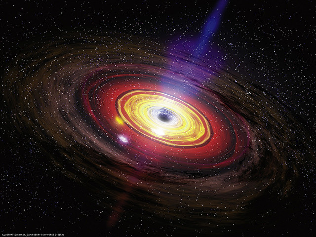 NASA celebrates Black Friday, tweets black holes facts