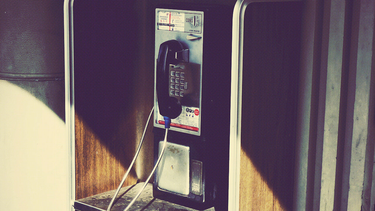 pay phone booths