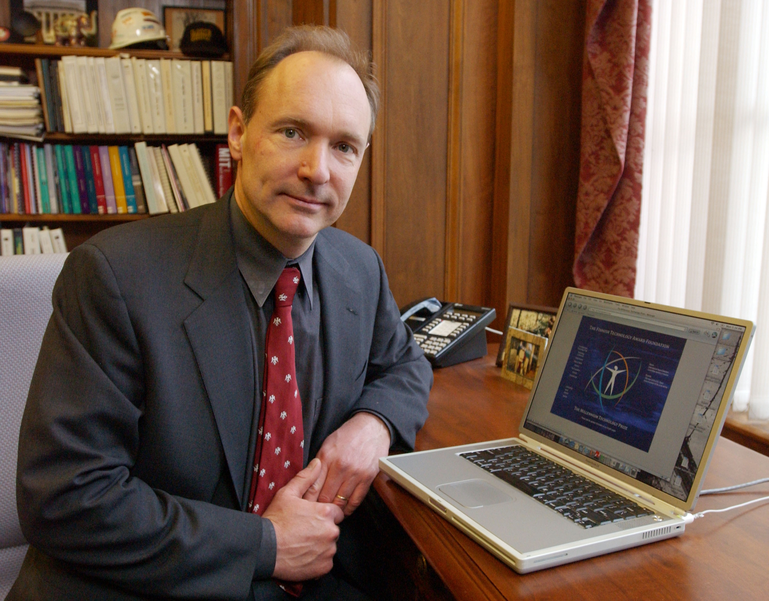 Father of web Tim Berners-Lee says Internet today is a basic human right
