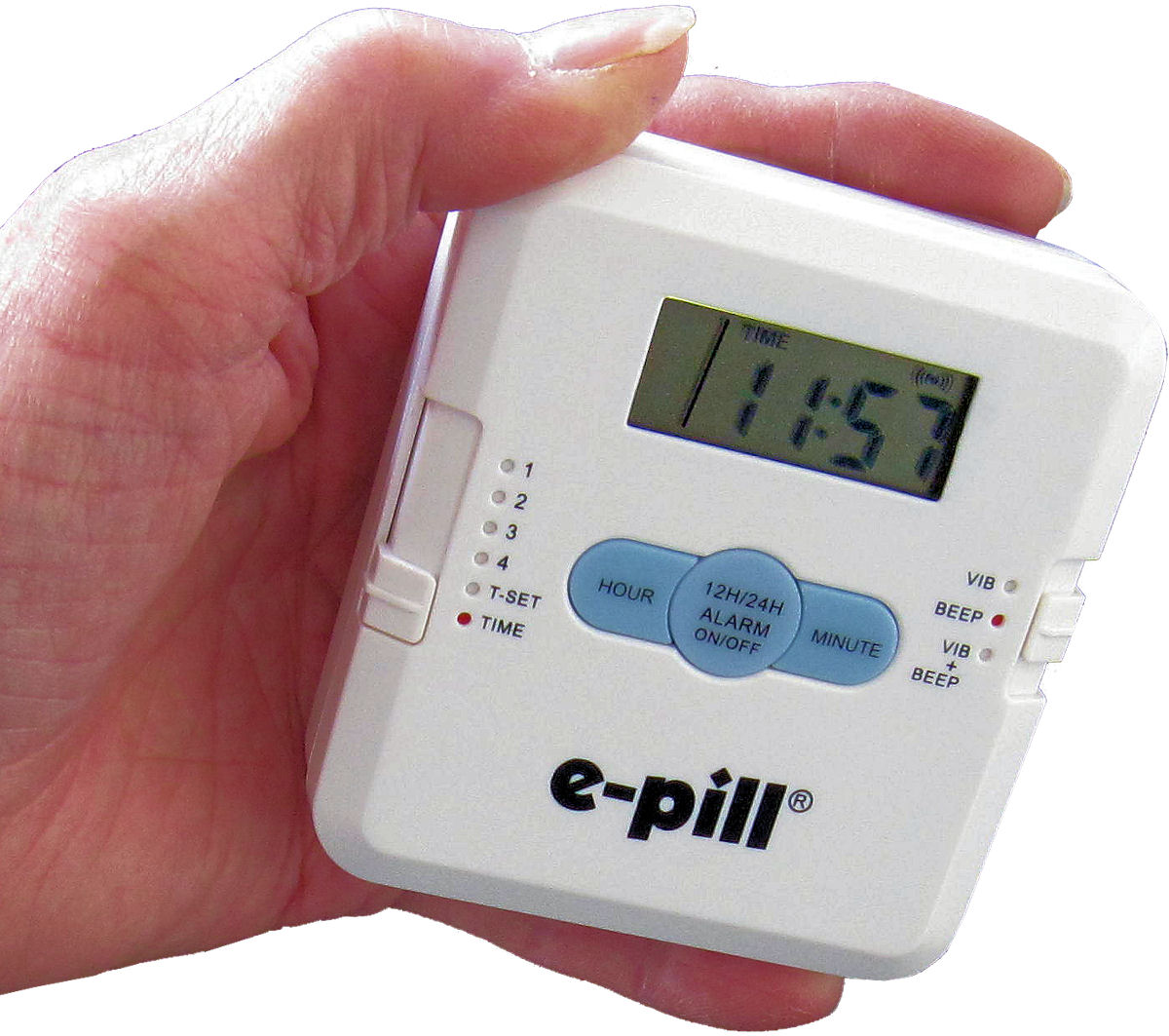 Electronic reminder system helps patients take their pills