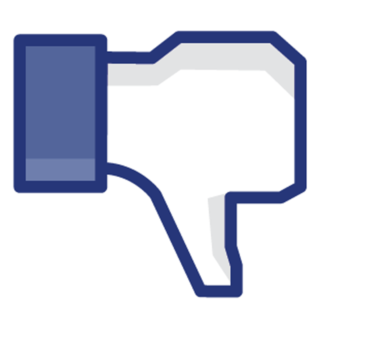 facebook popularity declining