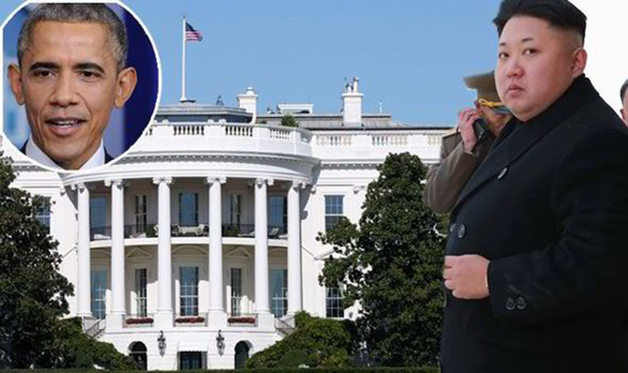 north korea attack on white house