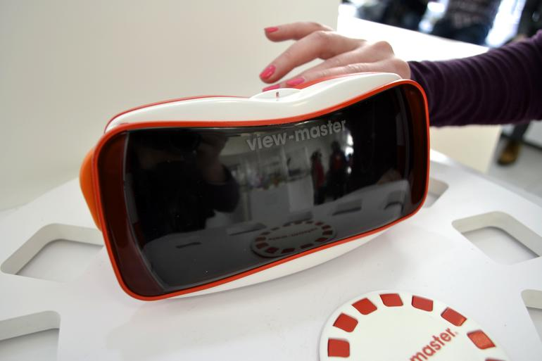 Mattel and Google partner to introduce a modernized version of the1939 View-Master