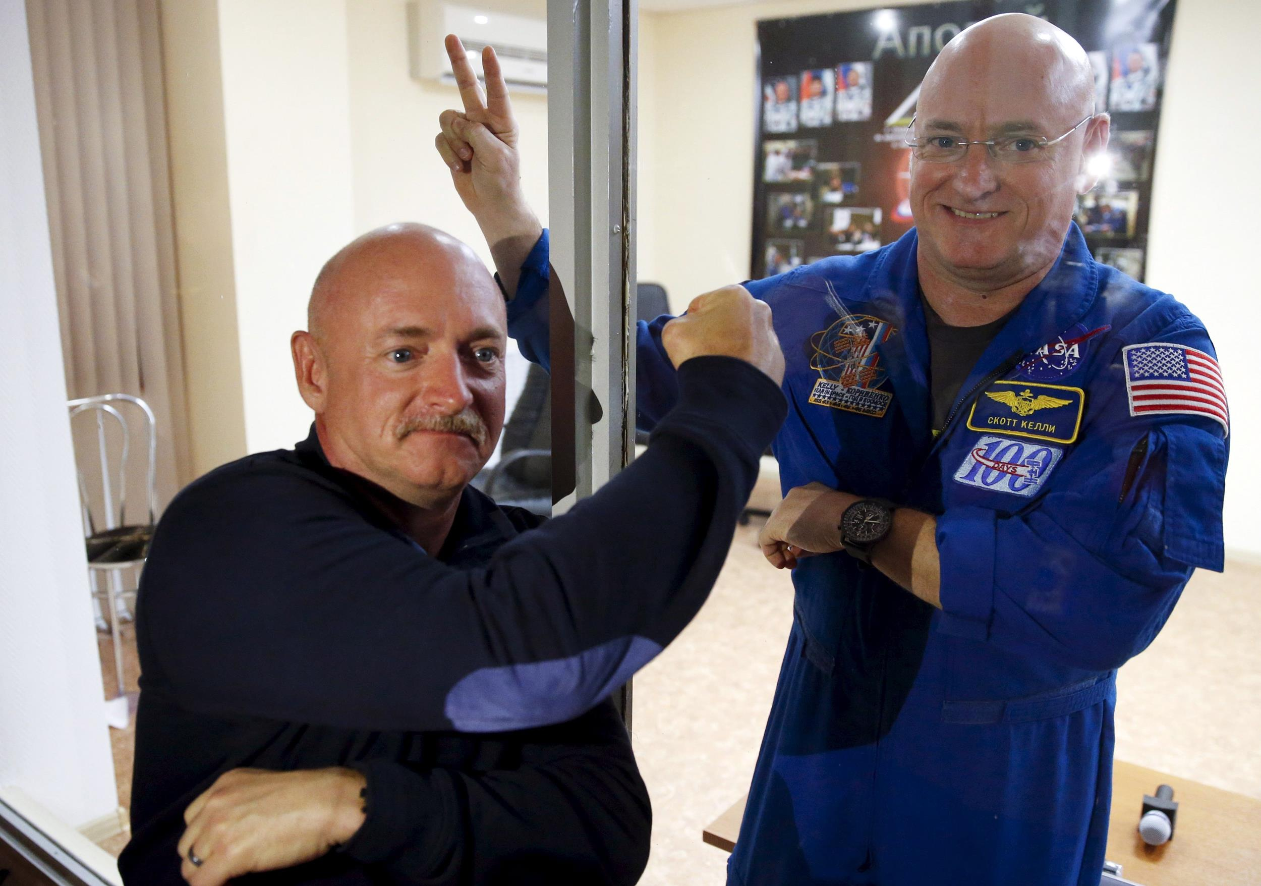 Three astronauts will undertake a year stay in space