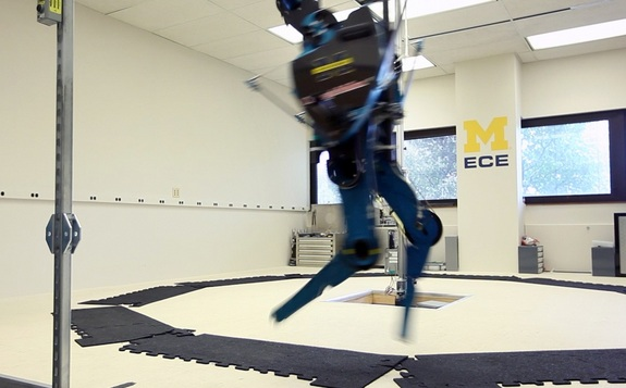 Come and Meet the Quickest Robot in the World