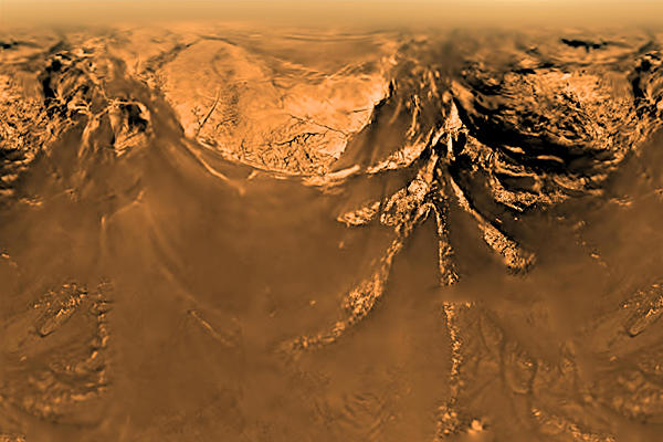 Violent Methane storm to explain Titan's Dune direction