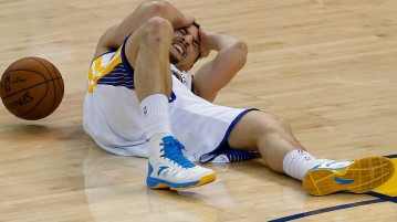 Klay Thompson concussion