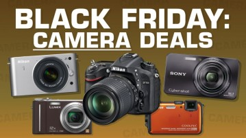 Black Friday deals on cameras from Amazon