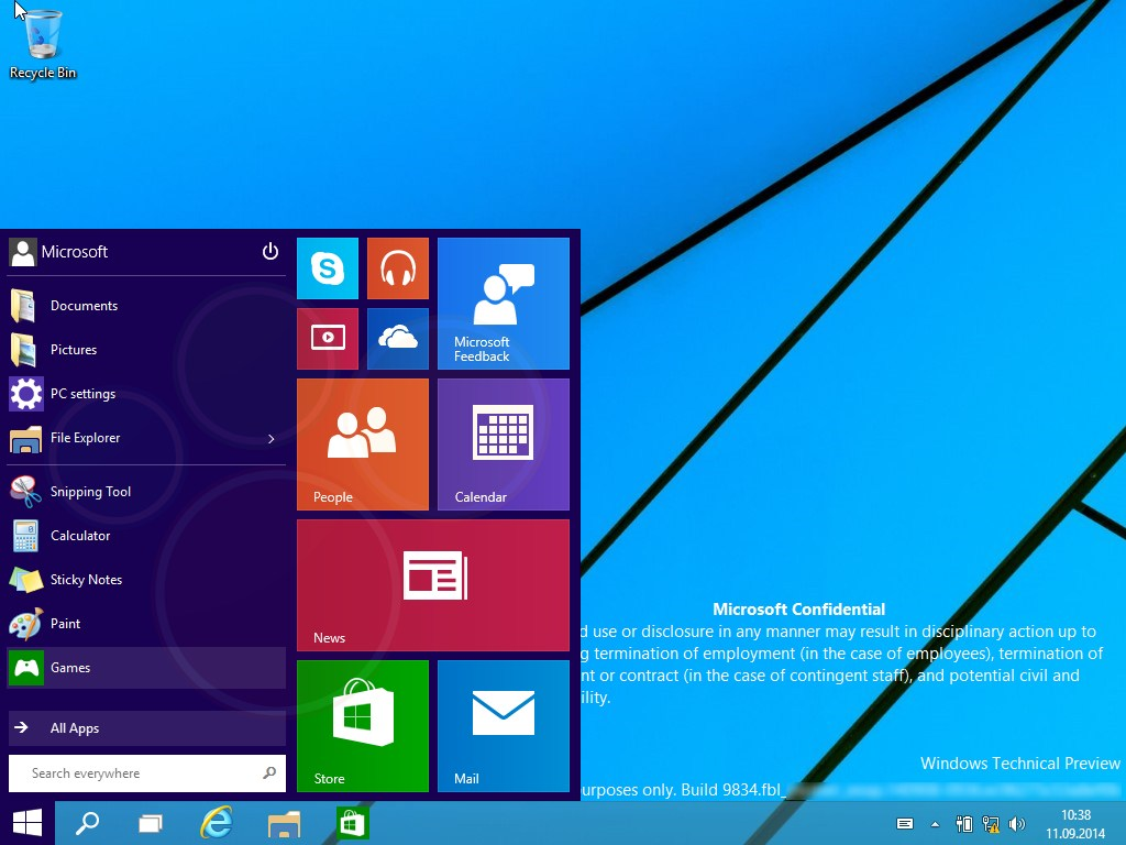 Windows 9 screenshot leaked!