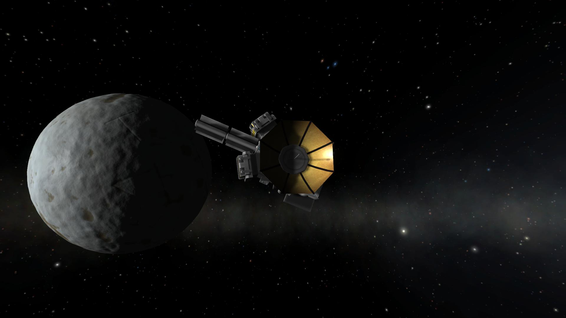 space probe to pluto - HD 1920×1080