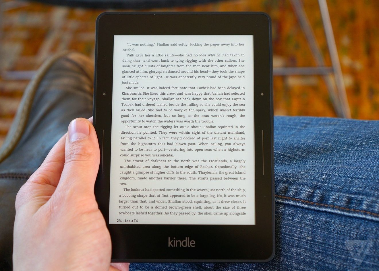 A Kindle software update