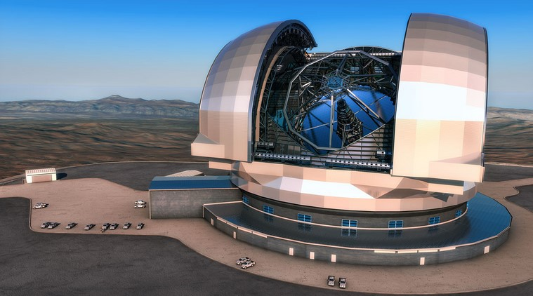 The world's largest telescope to be constructed in Chile