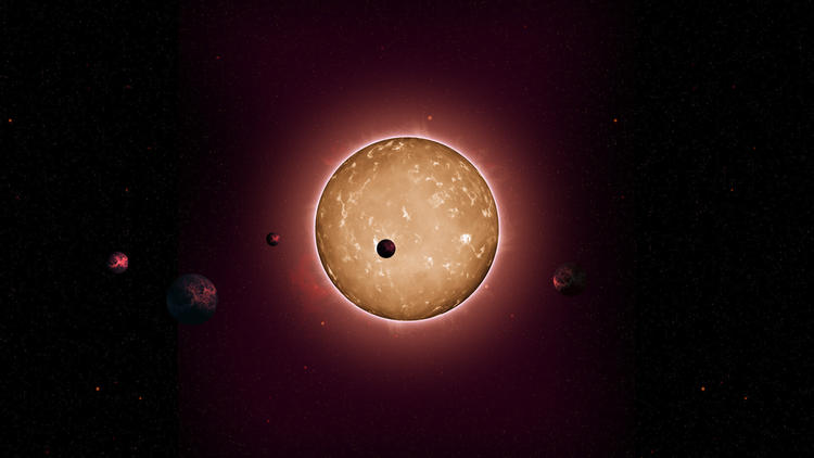 Astronomers discover five Earth sized planets orbiting 11.2 billion year old star