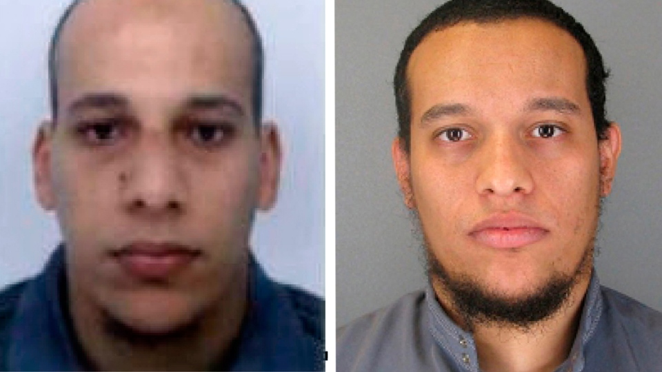 Paris attack Charlie Hebdo Two brothers suspects